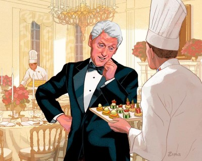 Bill Clinton as First Gent? He'd break new ground — and maybe a little china.