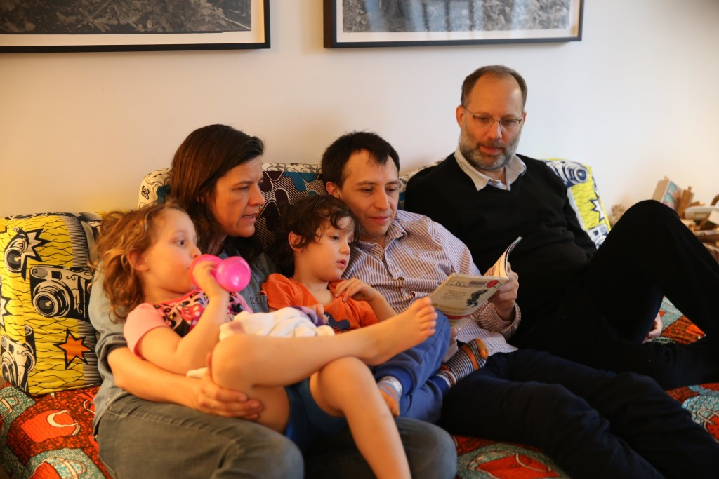 All in the (nonnuclear, totally unorthodox) family
